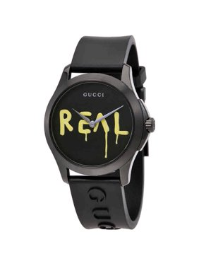 52071389d8a Product Image Gucci Ghost G-Timeless Black Dial Black Rubber Mens Watch  YA1264017