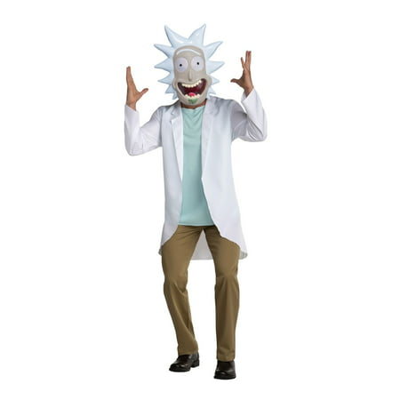 Rick & Morty - Rick Adult Costume](Rick Ross Halloween)