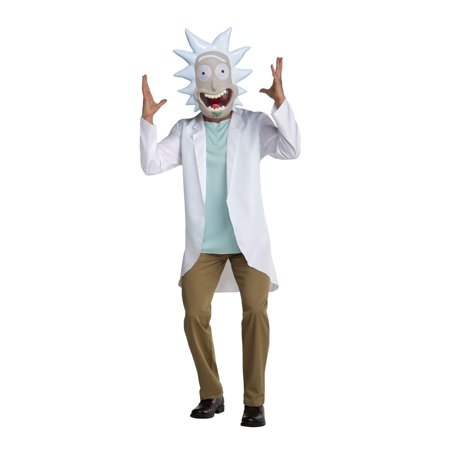 Rick & Morty - Rick Adult Costume](Rick And Morty Halloween Episode)
