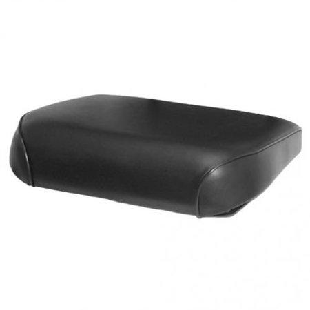 Seat Cushion, Vinyl, Black, New, Allis Chalmers, 70256350 ()