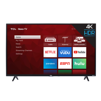 "Refurbished TCL 43"" Class 4K Ultra HD (2160P) Roku Smart LED TV (43S421)"