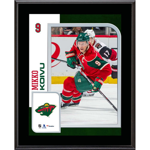 "Mikko Koivu Minnesota Wild 10.5"" x 13"" Sublimated Player Plaque - No Size"