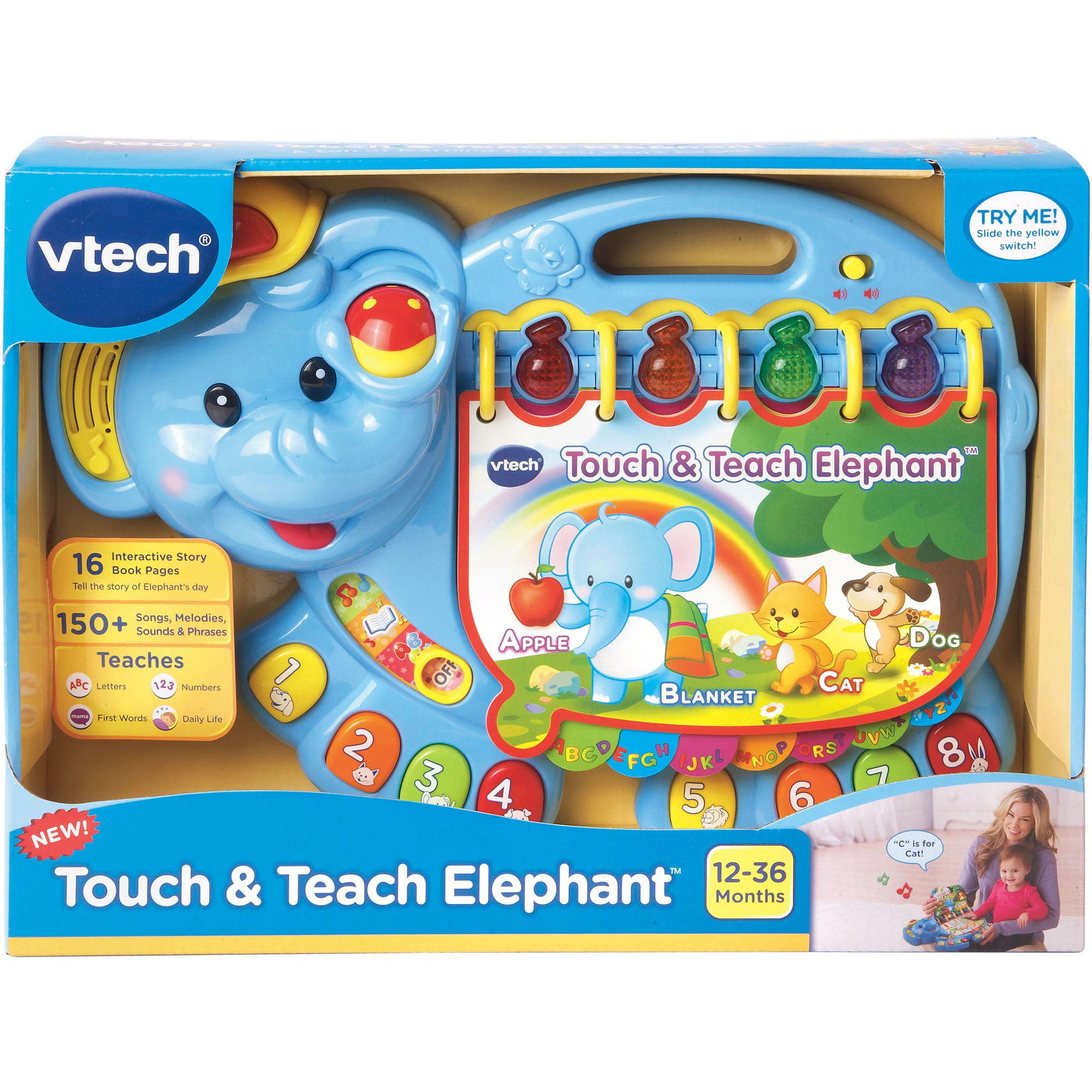 touch u0026 teach elephant u0026trade walmart com