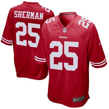 - Richard Sherman San Francisco 49ers Nike Game Jersey - Scarlet