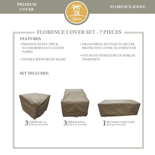 TK Classics Florence 7 Piece Cover Set