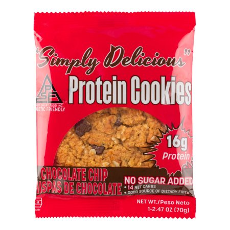 Low Carb Chocolate Chip Protein Cookie