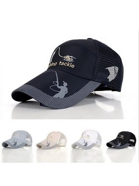 94222c3219b Product Image HiCoup Men Fashion Outdoor Sun Protection Tackle Mesh Baseball  Cap Fishing Hat