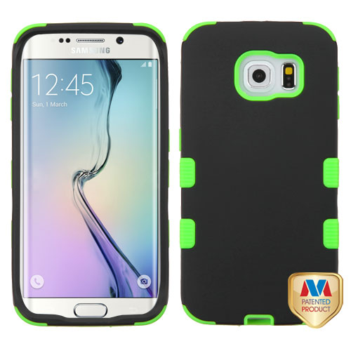 Samsung G925 Galaxy S6 Edge MyBat Rubberized TUFF Hybrid Phone Protector Cover