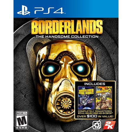 Borderlands: The Handsome Collection - Playstation 4 by, Two critically acclaimed Borderlands games in one package - experience Handsome Jack's rise to power in.., By 2K