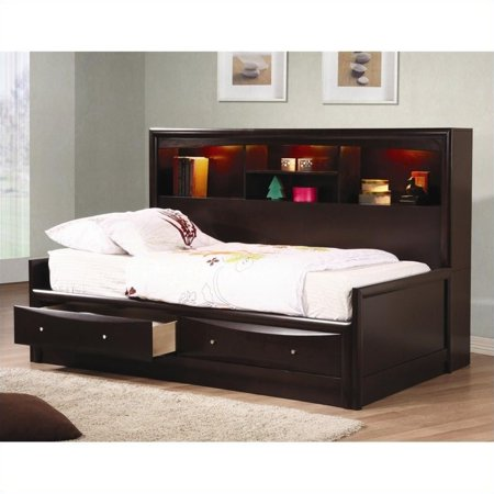 Coaster Phoenix Full Size Daybed With Bookcase Box 1 Of 3