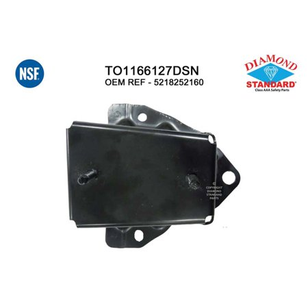 CPP NSF TO1166127 Left Bumper Bracket for 12-17 Toyota