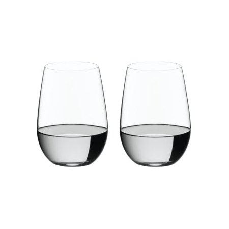 Riedel O Stemless Wine Tumblers Riesling /Sauvignon Blanc /Zinfandel / Sangiovese Set of 2 ()