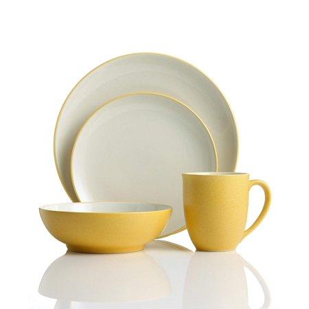Noritake Colorwave Mustard Coupe - Colorwave Mug, Mustard, Noritake Colorwave Mustard Mug By Noritake