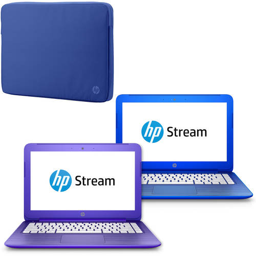HP Stream Notebook and Case Value Bundle