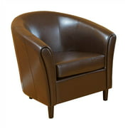 Kingsley Brown Leather Chair