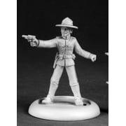 reaper miniatures dirk goodspeed, rcmp #50195 chronoscope d&d rpg mini figure
