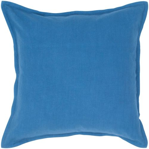 "Rizzy Home T04401 20"" x 20"" Pillow with Hidden Zipper and Polyester Filler"