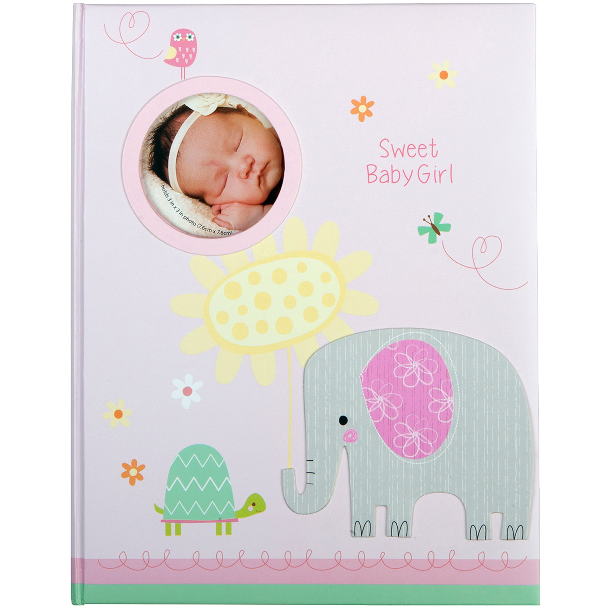 stepping stones girls elephant baby memory book walmart com