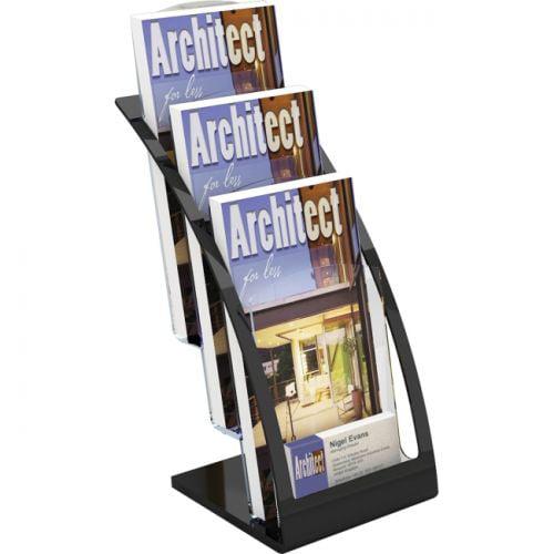 Deflect-o 3-tier Contemporary Leaflet Holder - image 1 de 1