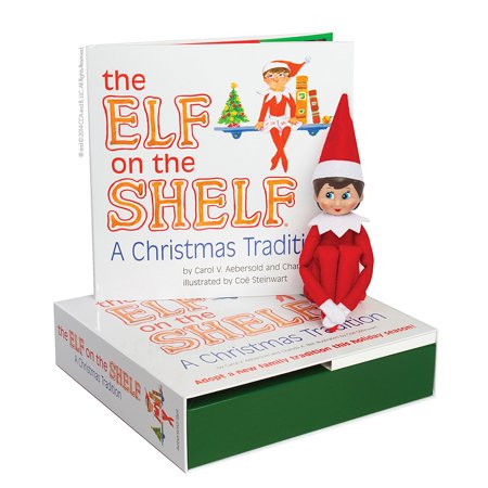 Elf on the Shelf: A Christmas Tradition (blue-eyed girl scout elf) By The Elf on the (Magical Christmas Elf)
