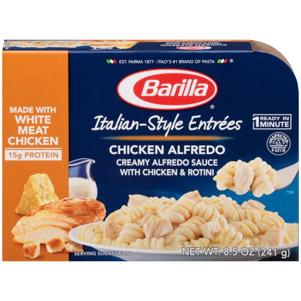 Barilla Pasta Italian-Style Entrees Chicken Alfredo 8.5