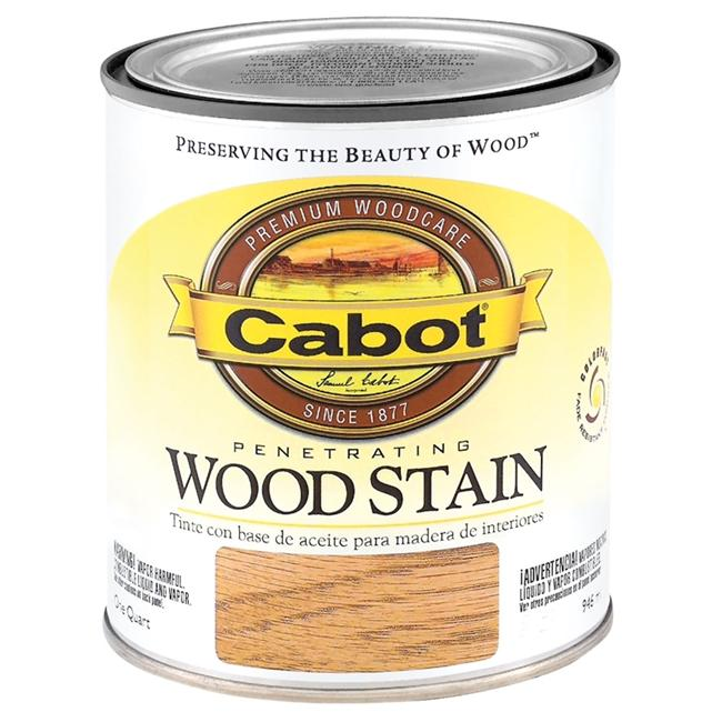 Valspar Brand 1 Quart Cherry Interior Oil Wood Stain  144-8124 QT