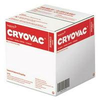 "Cryovac One Quart Storage Bag Dual Zipper, Clear, 7"" x 7 15/16"", 500/CT"