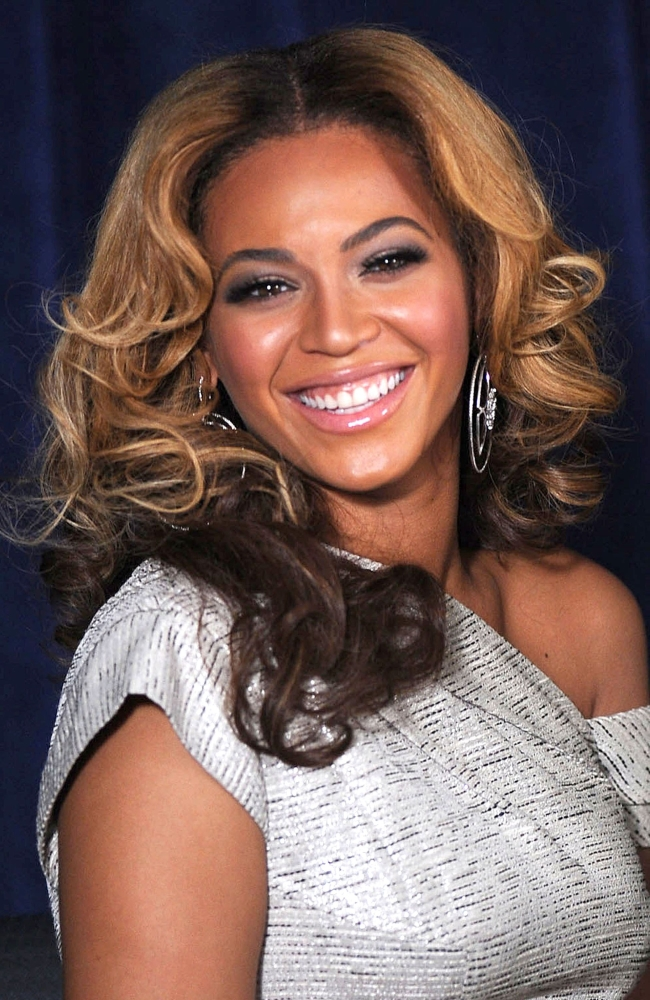 Beyonce Knowles At A Public Appearance For The Beyonce Cosmetology Center Grand...