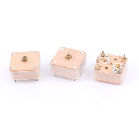 3pcs 224pF 4 Linear PCB Trimmer Tuning Variable Adjustable Capacitors for