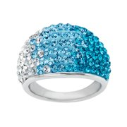 Luminesse Ss Blue Crys Ring