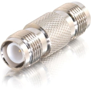 COAX RP-TNC JACK TO RP-TNC JACK ADAPTER SILVER