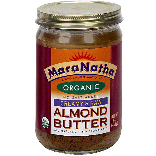 Maranatha Creamy Raw Almond Butter, 16 oz (Pack of 12)