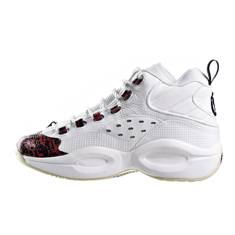 d829f59bcd1f31 Reebok - Reebok Question Mid Prototype Men s Shoes White Red Black v67907 -  Walmart.com