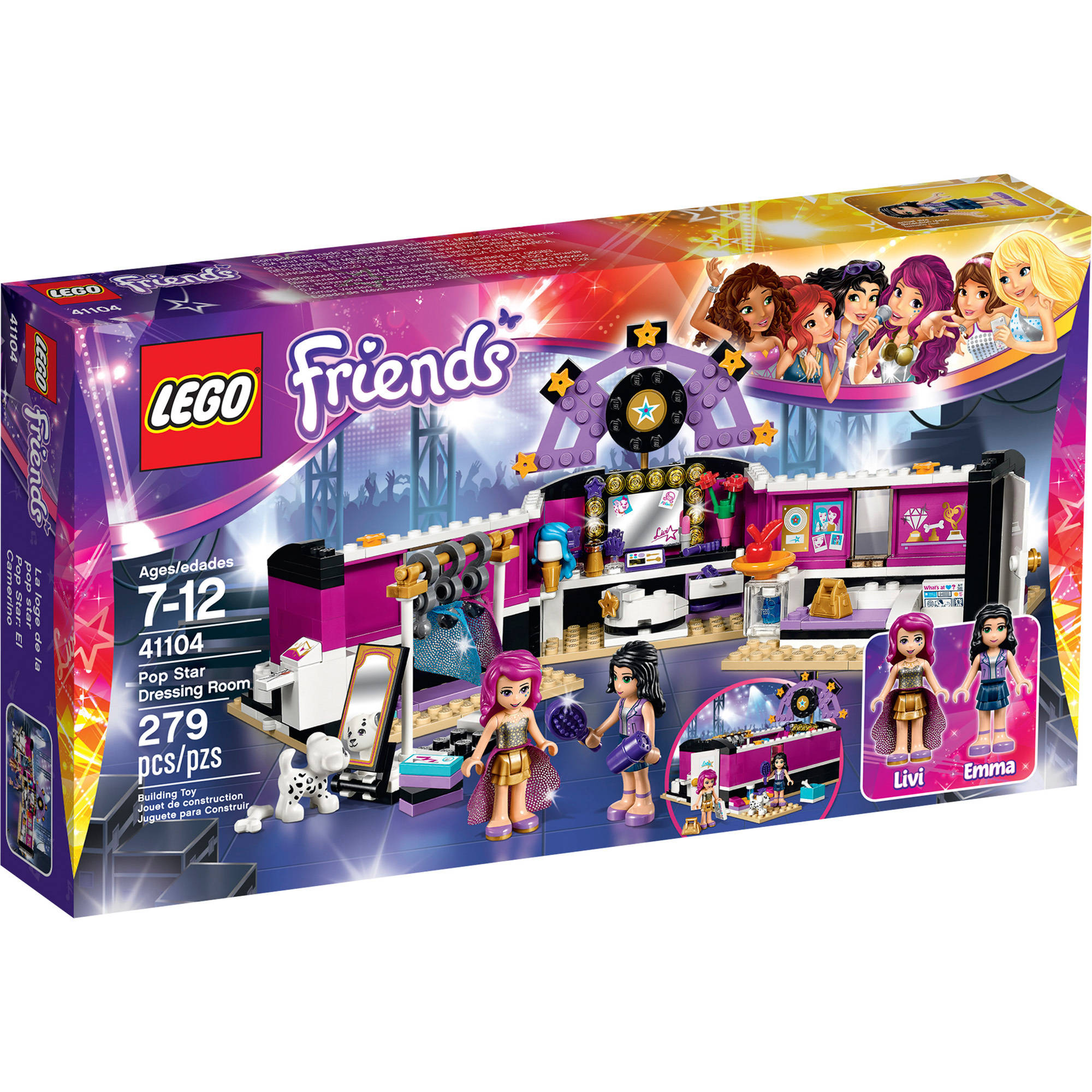 LEGO Friends Pop Star Dressing Room, 41104