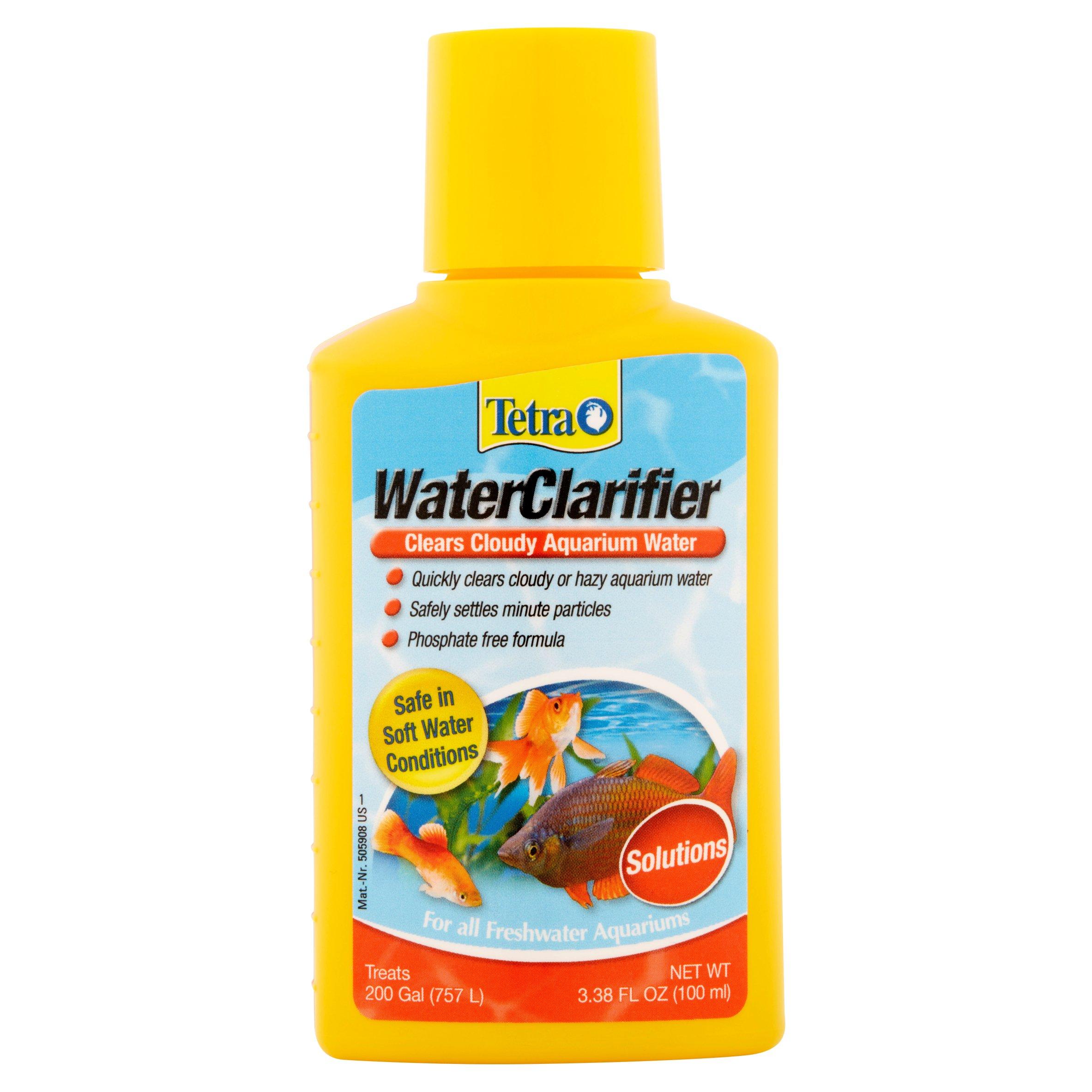 (2 Pack) Tetra Water Clarifier Aquarium Treatment Solution, 3.38 oz