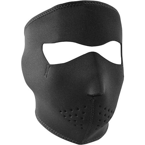Zan Headgear Full Mask Neoprene, Black