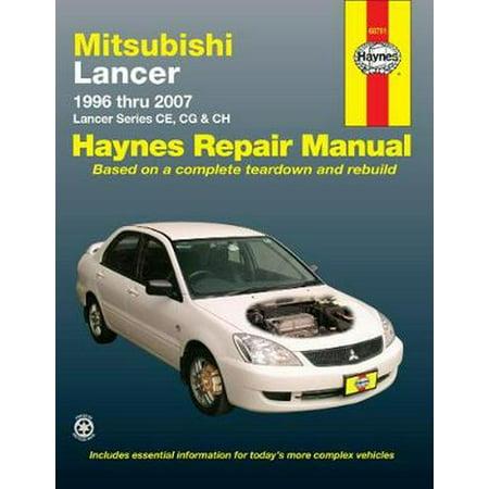 Mitsubishi Lancer Automotive Repair Manual (Haynes Automotive Repair Manuals) (Paperback)