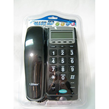 Large Number Phone Speaker Telephone Line Big Button Caller ID Display Office