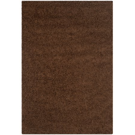 Safavieh Athens Solid Plush Shag Area Rug or Runner ()