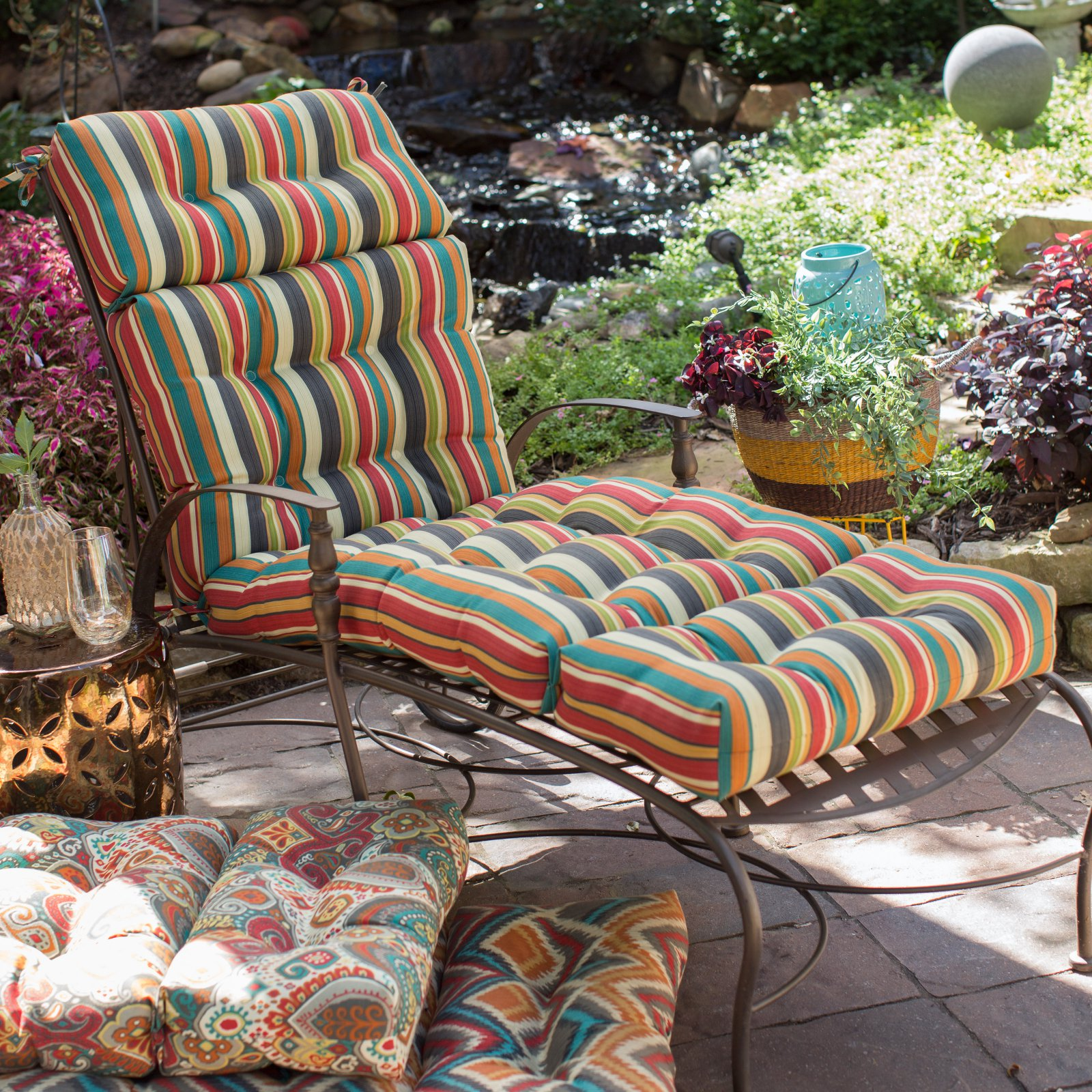 Coral Coast Global 72 x 22 in. Outdoor Chaise Lounge Cushion