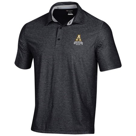 Tonal Jersey Stripe Polo - Appalachian State Men's Polo Champion Tonal Stripe Polo