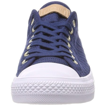 80d5fba0f669 Converse Women s CTAS Ox Navy Tan White Trainers - image 1 of 2 ...