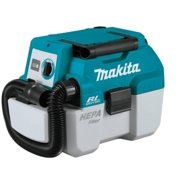 Makita 18-Volt LXT Lithium-Ion Brushless Cordless 2 Gal. HEPA Filter Portable Wet/Dry Dust Extractor/Vacuum, Tool Only