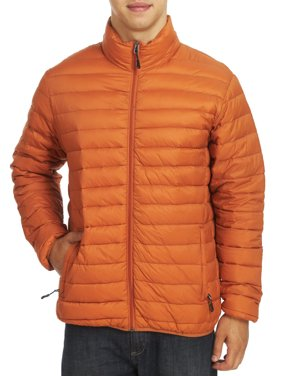 Hawke & Co Men's The Flatiron Packable Down Jacket, Wine, Small