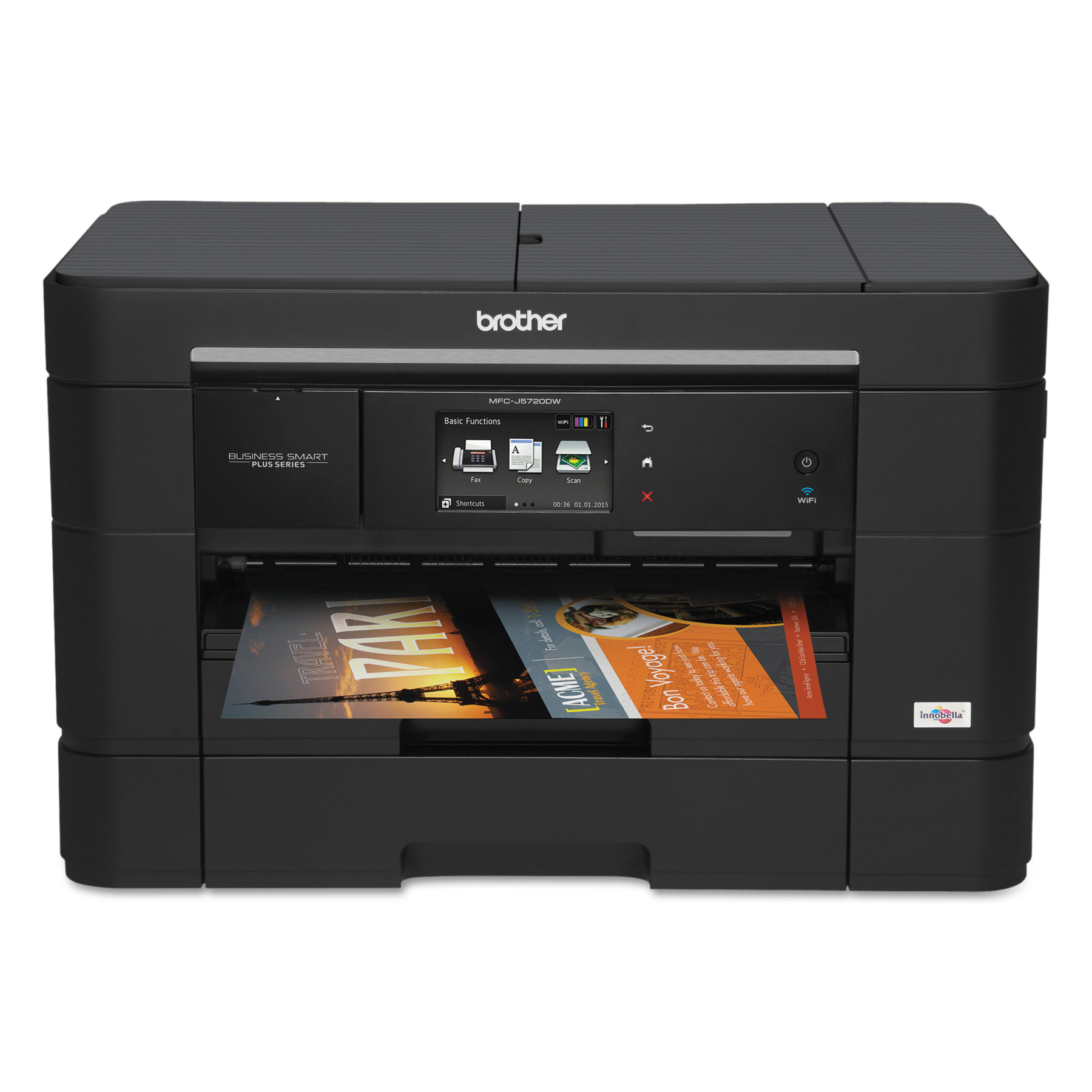 Click here to buy Brother Business Smart Plus MFC-J5720DW All-in-One Inkjet Printer, Copy Fax Print Scan by Brother.