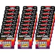 Rayovac Alkaline Batteries AA Fusion 192/CT Red/Silver 8158TFUSKCT