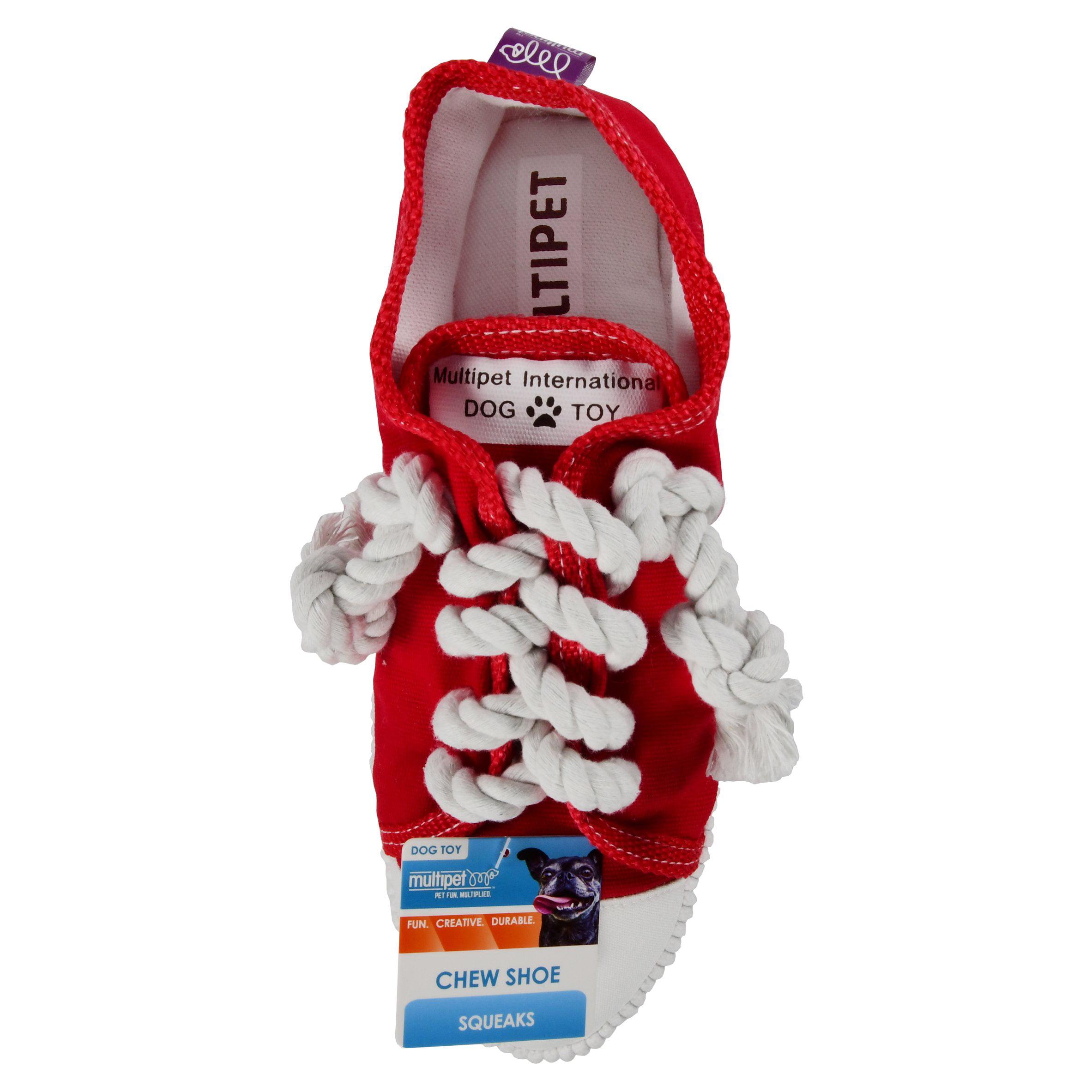 Multipet Chew Shoe Dog Toy