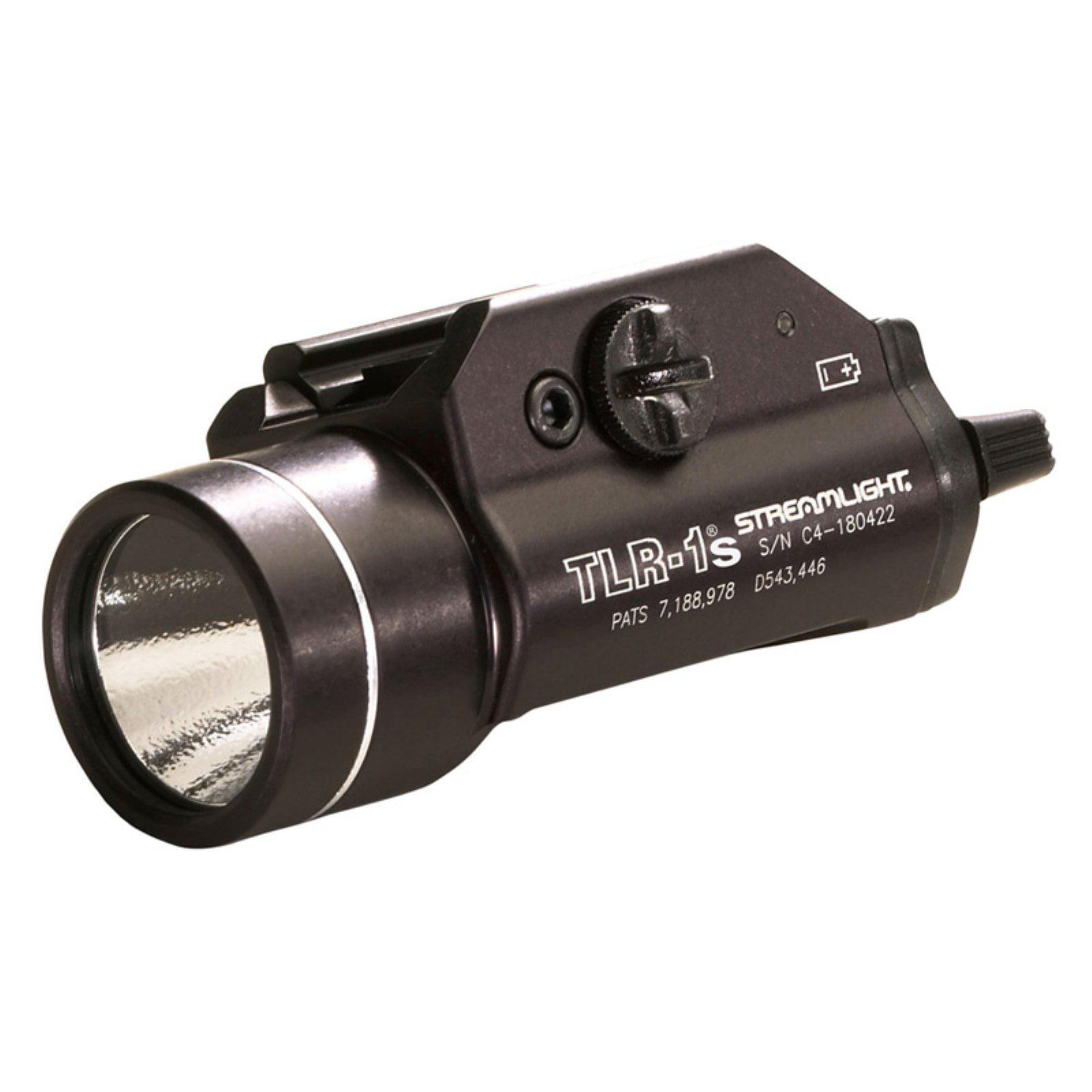 Streamlight TLR-1S Rail-Mount 300 Lumen Tactical LED Strobe Light, Black - 69210