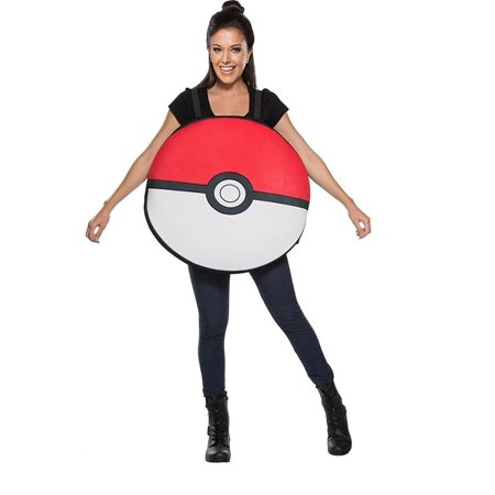 Pokemon Adult Inflatable Poke Ball Halloween Costume