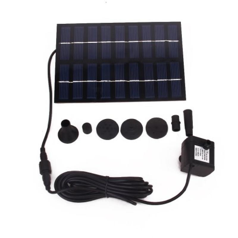 Urparcel GY-D-0018 Solar Powered Fountain Pool Garden Wat...